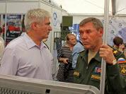 Герасимов В.В. - начальник Генерального штаба Вооружённых сил РФ и М.А. Сонькин