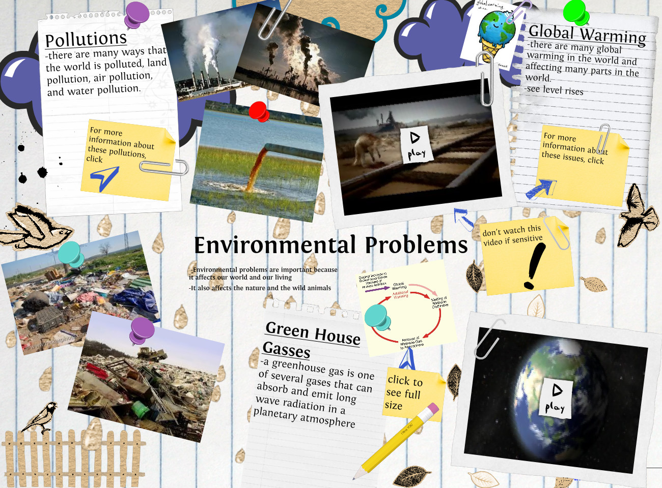 an essay about environmental problems