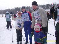 Люблю лыжные гонки и катание на коньках всей семьей